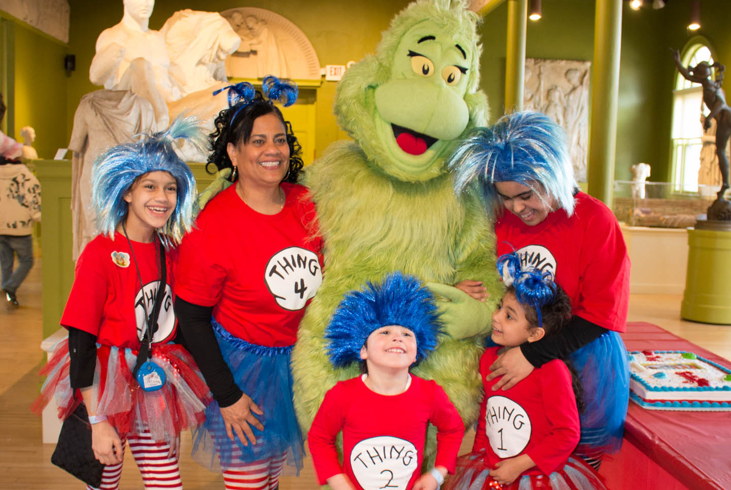 Record-Breaking Attendance At Springfield Museums' Dr. Seuss Birthday Party