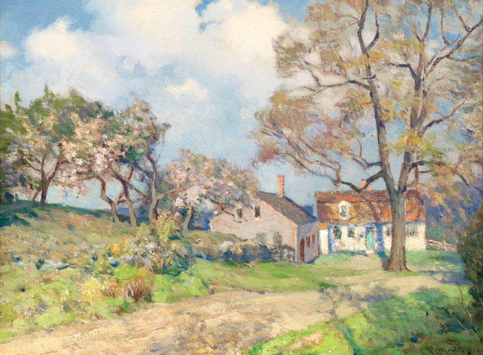 Rediscovered American (Boston-based) Impressionists At Springfield Museums