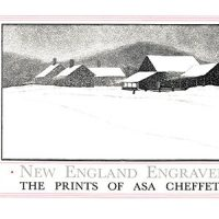 New England Engraved: The Prints Of Asa Cheffetz
