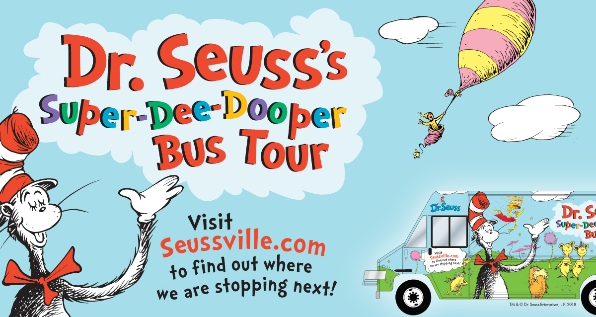Celebrate Reading At The Springfield Museums: Dr. Seuss Bus Stopping Here July 1 & 2