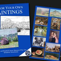 D'Amour Museum Of Fine Arts Coloring Book