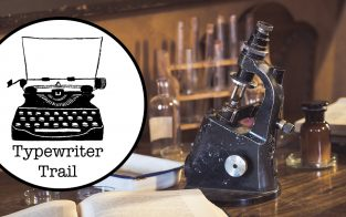Typewriter Trail: The Curator's Office