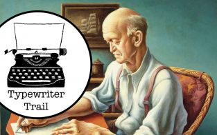 Typewriter Trail: The Editor's Office