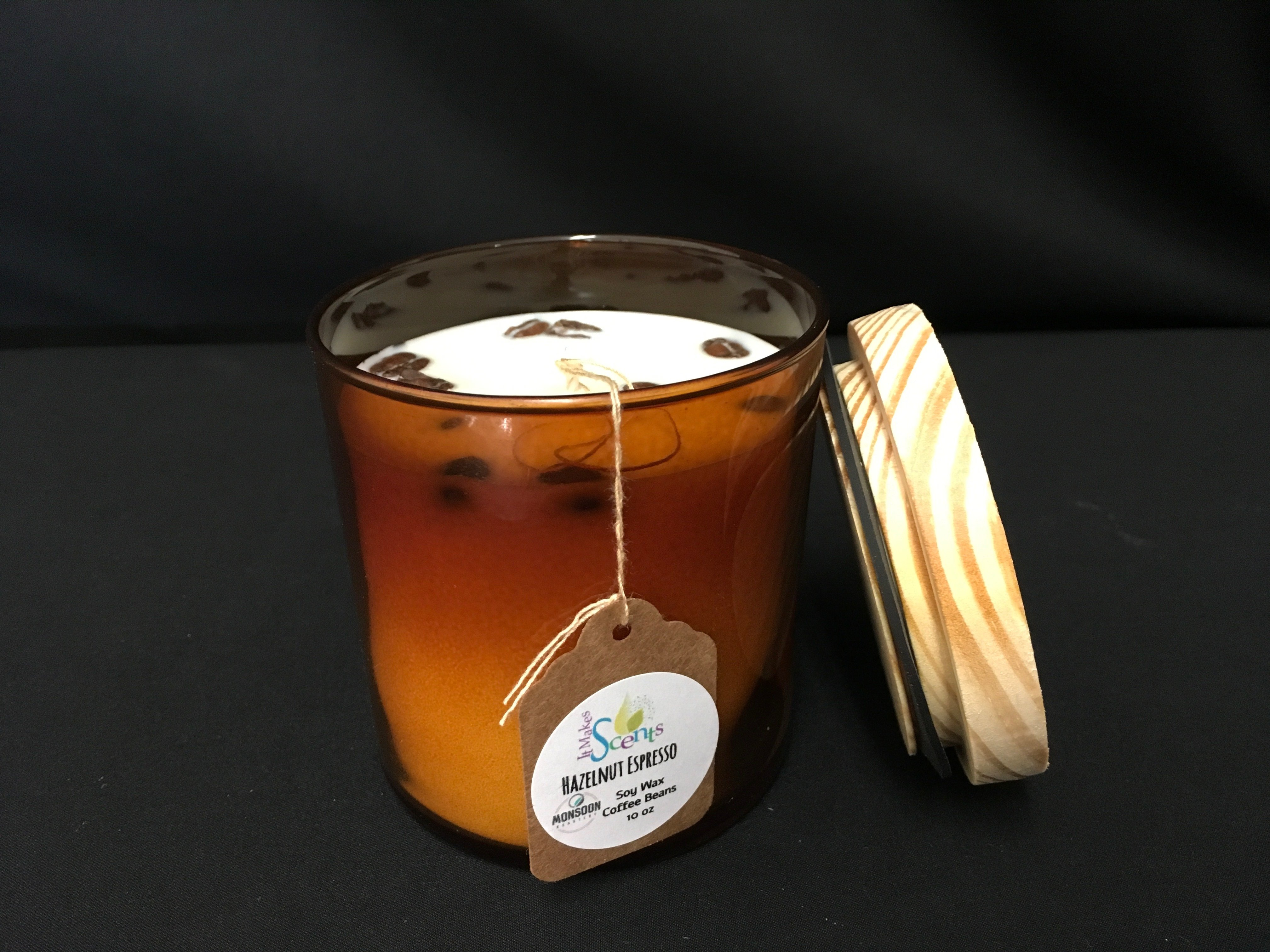 It Makes Scents Hazelnut Coffee Candle | Springfield Museums