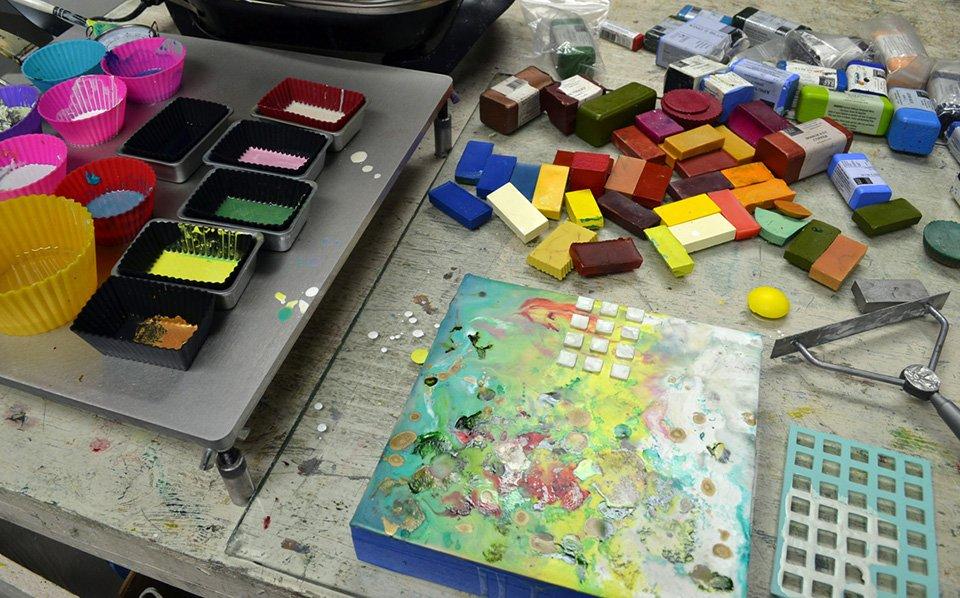 Intro To Encaustic Painting Workshop