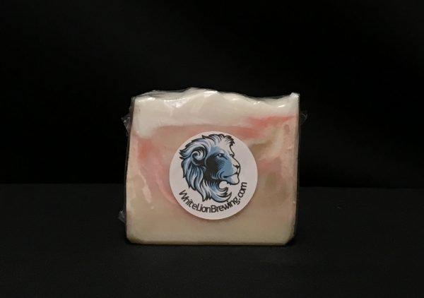 White Lion Soap Front