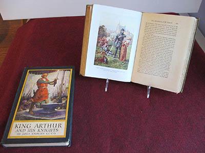 Books Early Ed. King Arthur 8 X 6 X 2 & 9 X 6.25 X 1.5