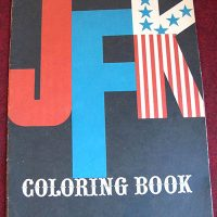 Adult Coloring Book,  JFK