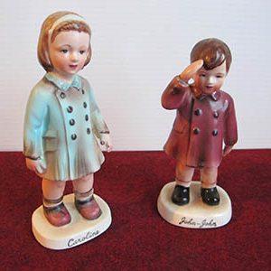 Figurines, Caroline And John Kennedy, 1963