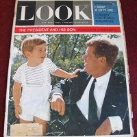 Magazine Look Dec. 1963 13.5 X 10.5