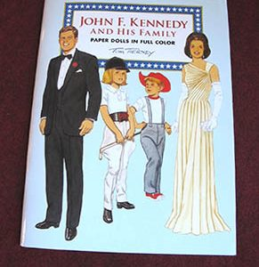 John F. Kennedy & His Family Paper Dolls, 2016