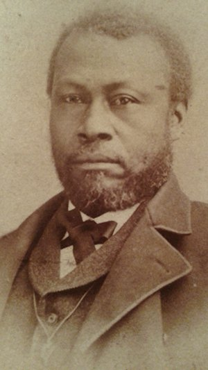 Portrait of African American abolitionist and entrepreneur Thomas Thomas