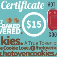 Gourmet Fresh-Baked Delivered Cookies Gift Certificate