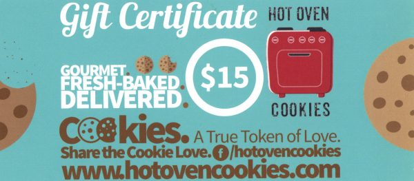 Hot Oven Cookies Coupon