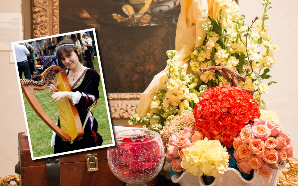 Festival Of Flowers Music Series: The Pied Harpist