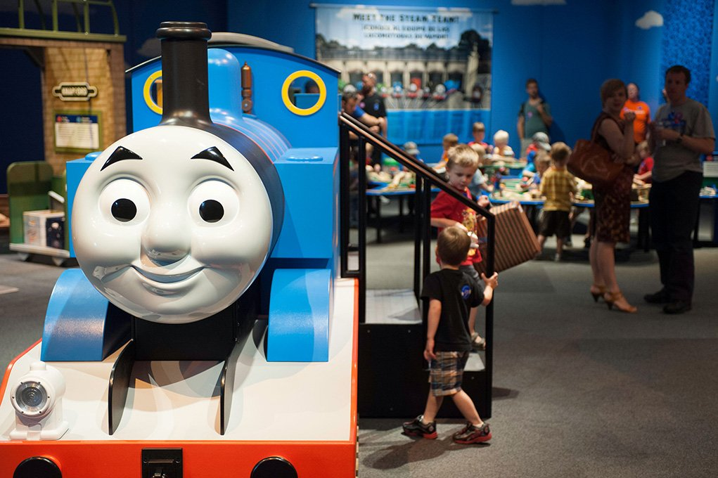 Thomas & Friends™ Rolls Into The Springfield Museums