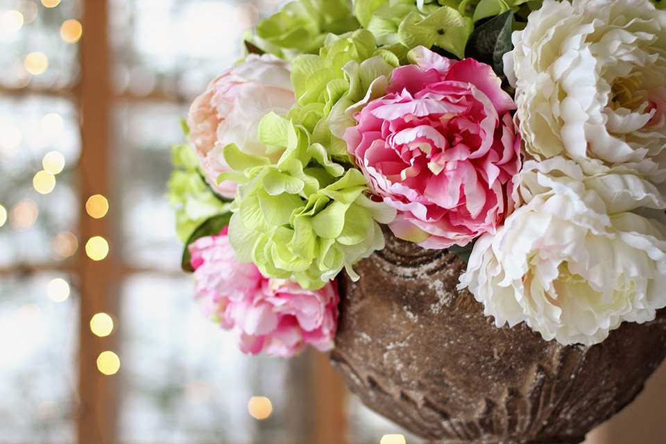Floral Design: Spring Celebration Centerpiece