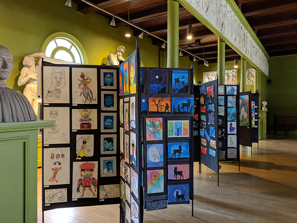 Springfield Student Art Shines In Springfield Museums