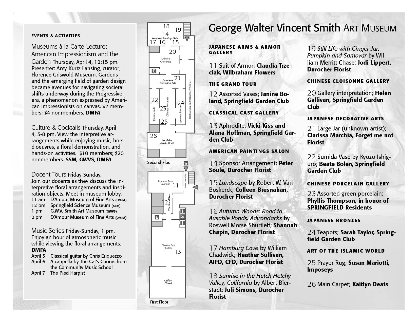 Festival of Flowers Map Page 2