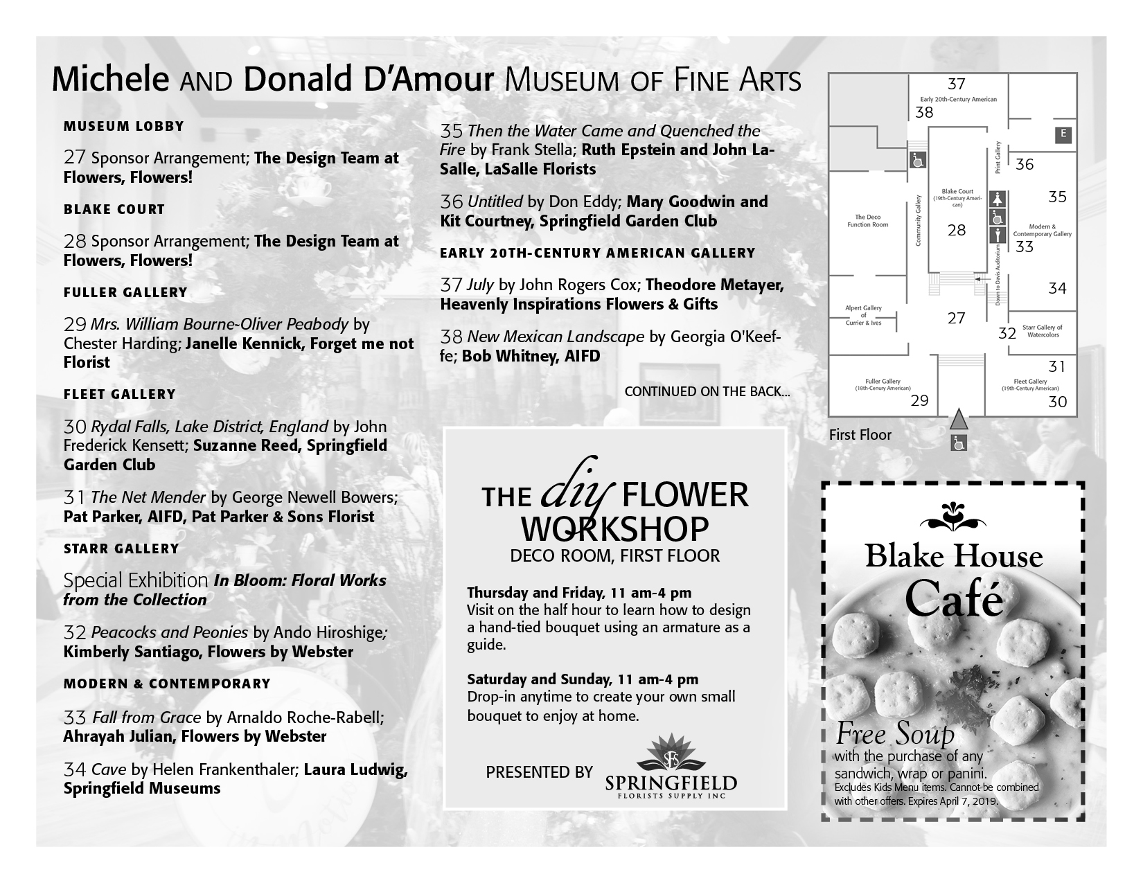 Festival of Flowers Map Page 3