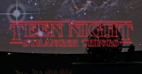 Teen Night Stranger Things