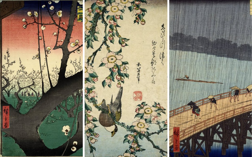 Trio of Japanese prints from the permanent collection