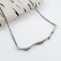 Branch Bar Necklace SS Oxidized Chain2 1024x1024@2x