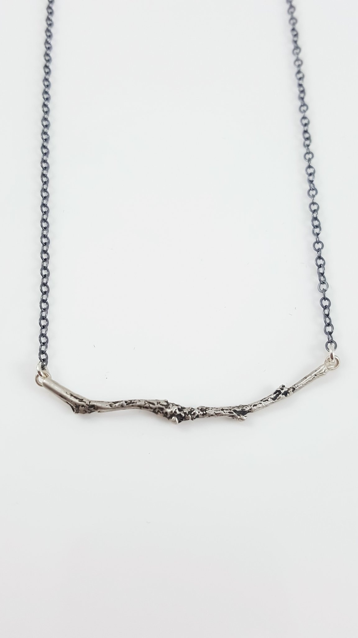 Branch Bar Necklace SS Oxidized Chain3 1024x1024@2x