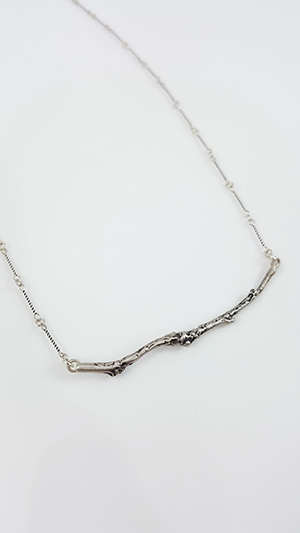 Branch Bar Necklace SS Oxidized Chain 1024x1024@2x Smaller