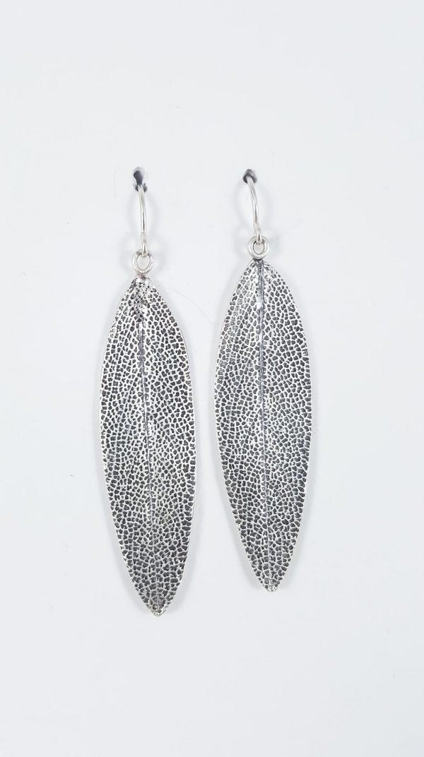 Sage Leaf Earrings Silver 1024x1024@2x