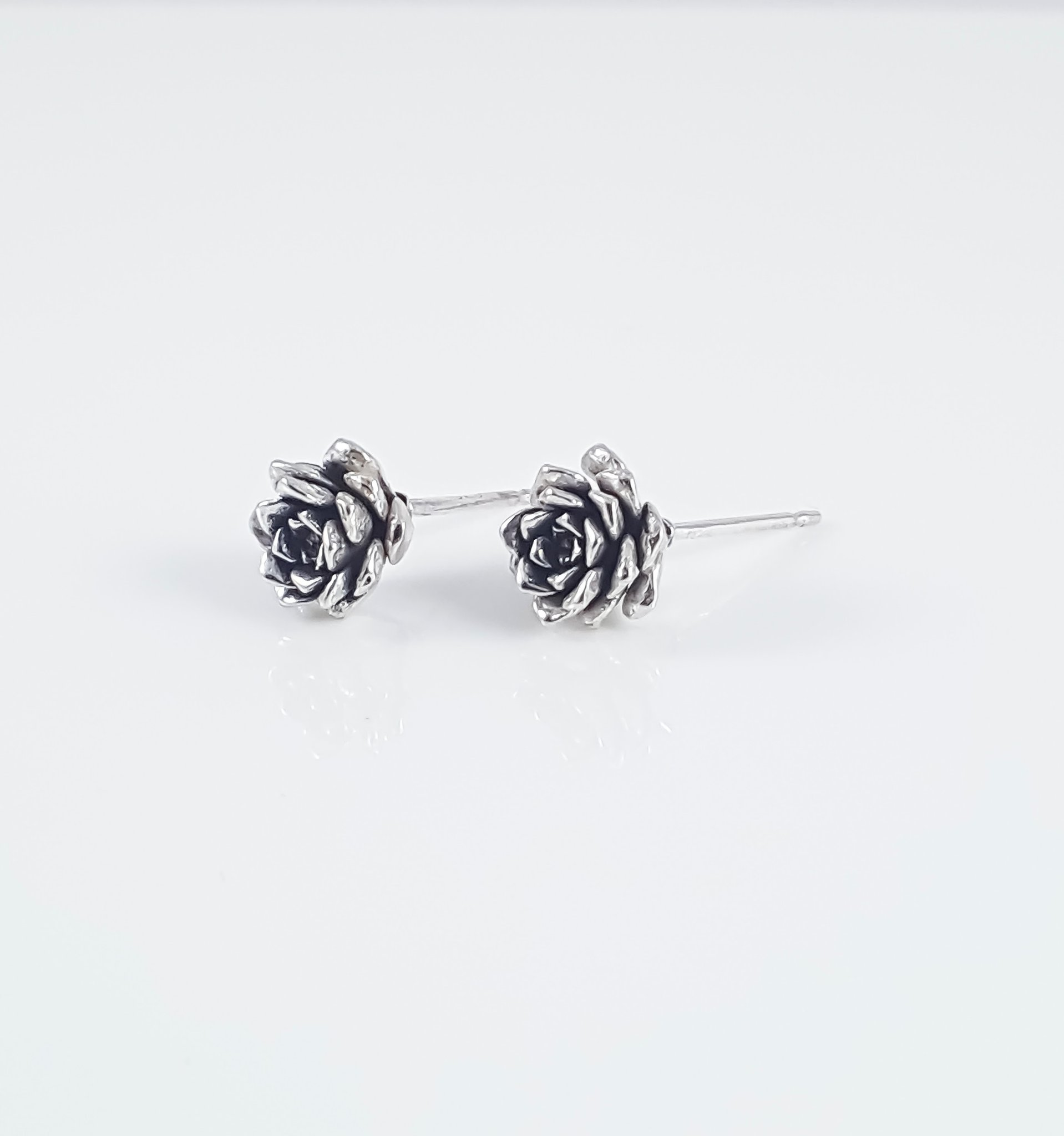Succulent Bud Stud Earrings 2 1024x1024@2x