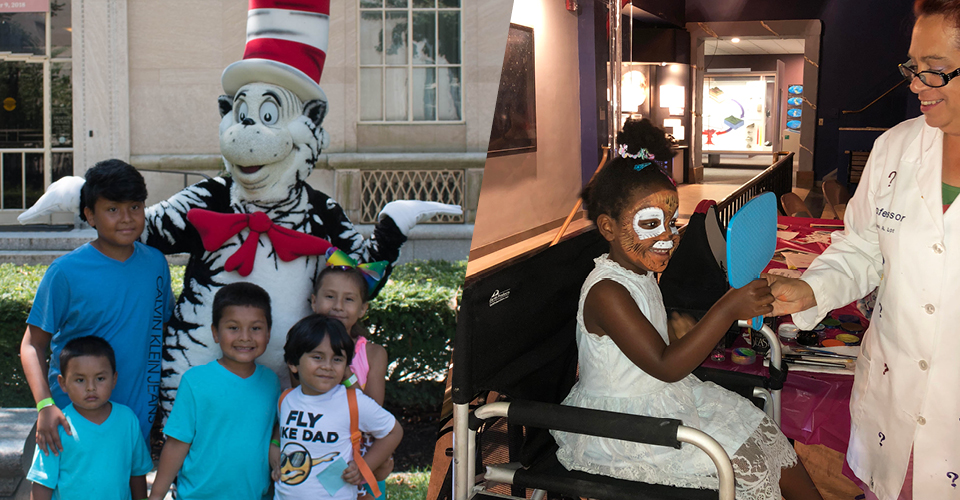 Meet the Cat in the Hat and face painting