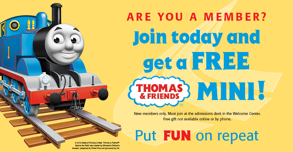 Thomas & Friends Gift with Membership