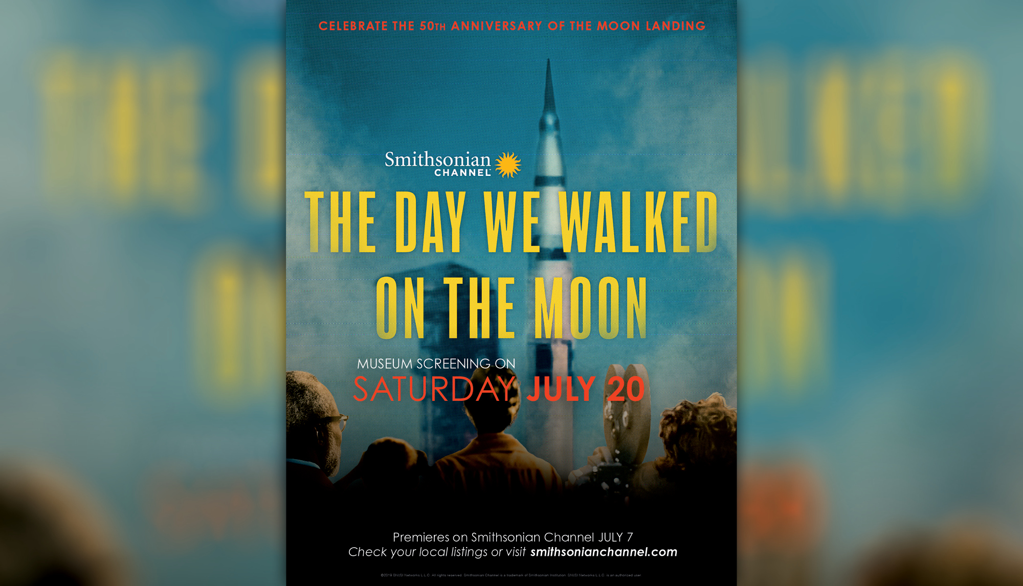 Sneak Peek: Smithsonian Channel Moon Walk Documentary At The Museums