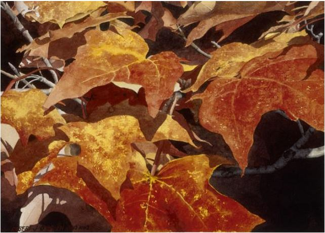 Watercolor: Painting The Vibrant Colors Of Fall