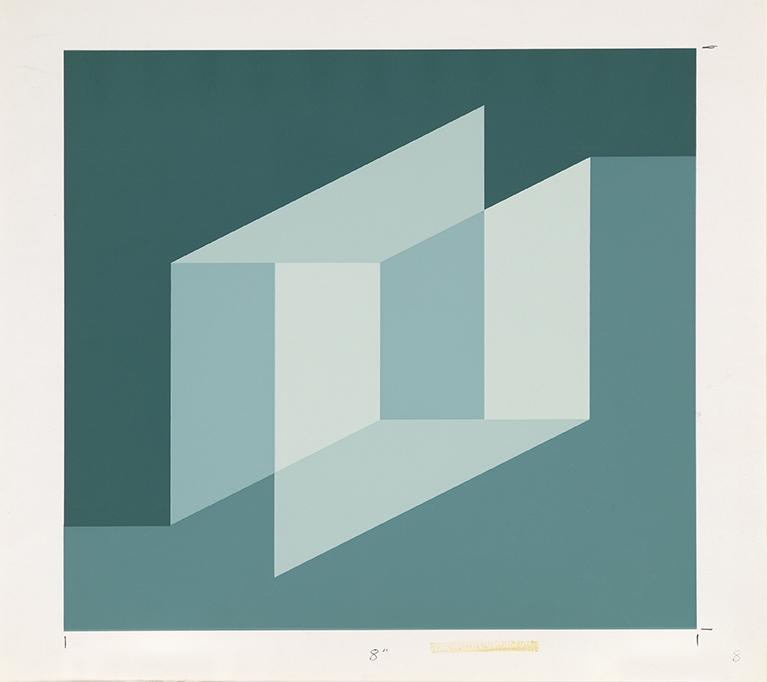 Bauhaus serigraph by Josef Albers