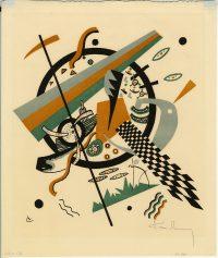 Bauhaus lithograph