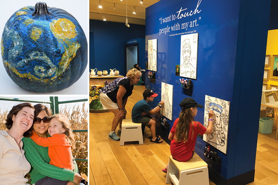 Van Gogh for All Family Day Activities