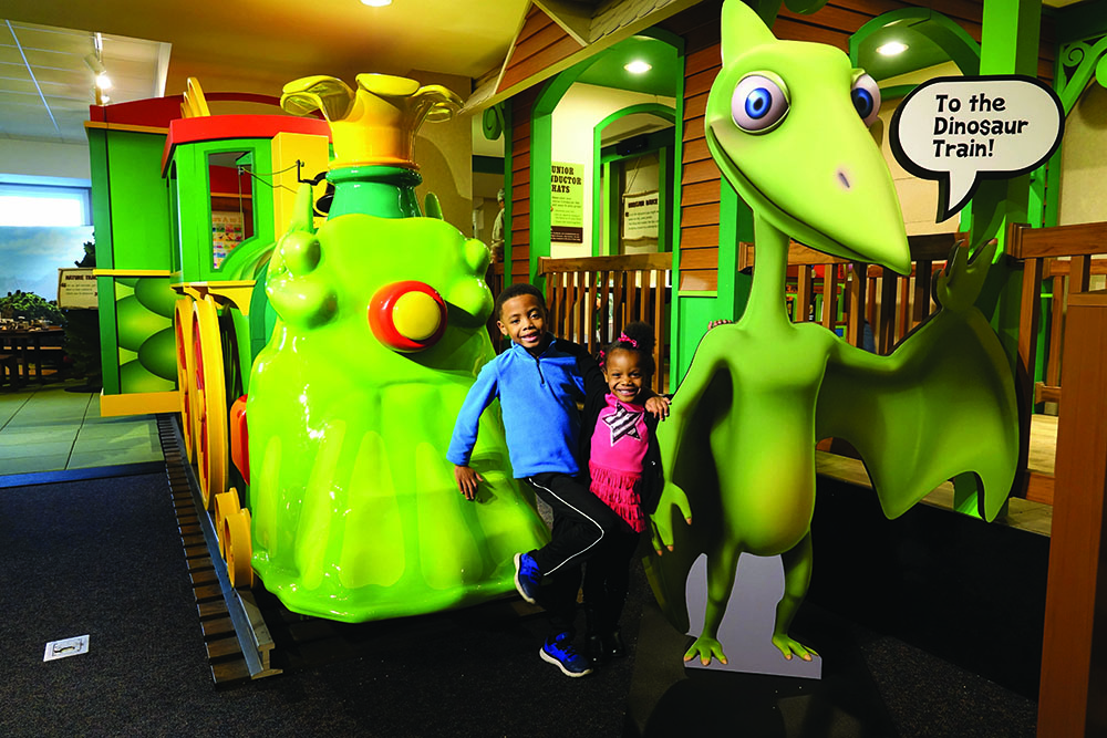 Springfield Museums Hosts Dinosaur Train: The Traveling Exhibit