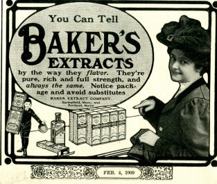Baking Extract Advertisement