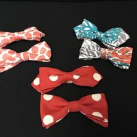 Seussian Bow Ties In Color Variety