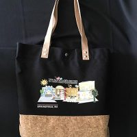 Springfield Museums Logo Tote