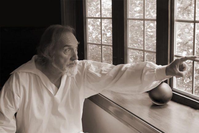 Stephen Collins portraying Herman Melville