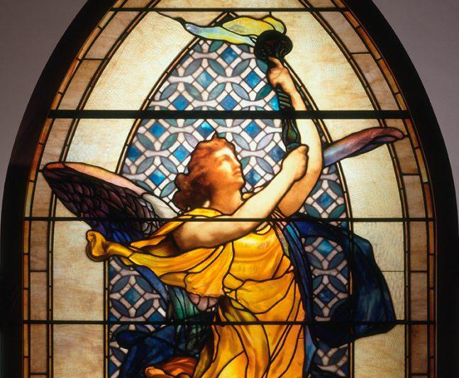 The Lightbearer Stained Glass