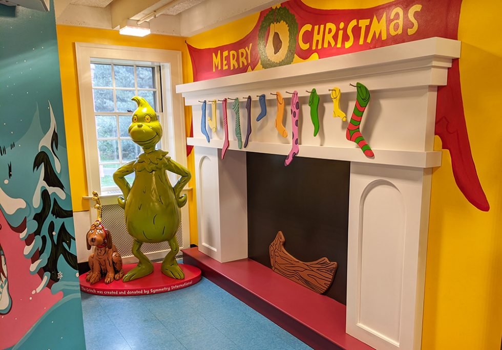 Whoville Gallery with the Grinch