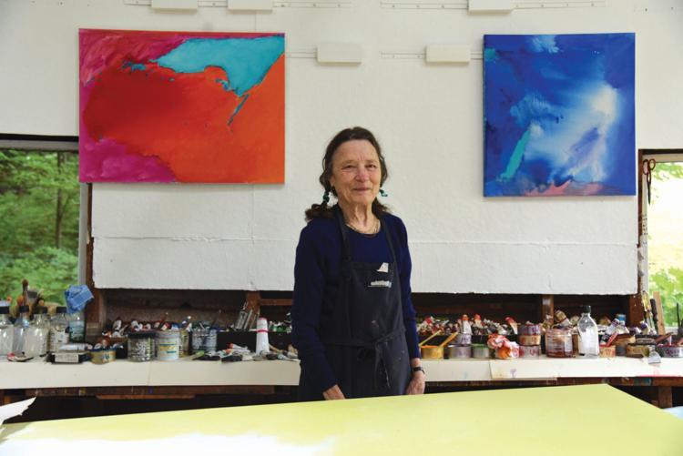 Artist Emily Mason