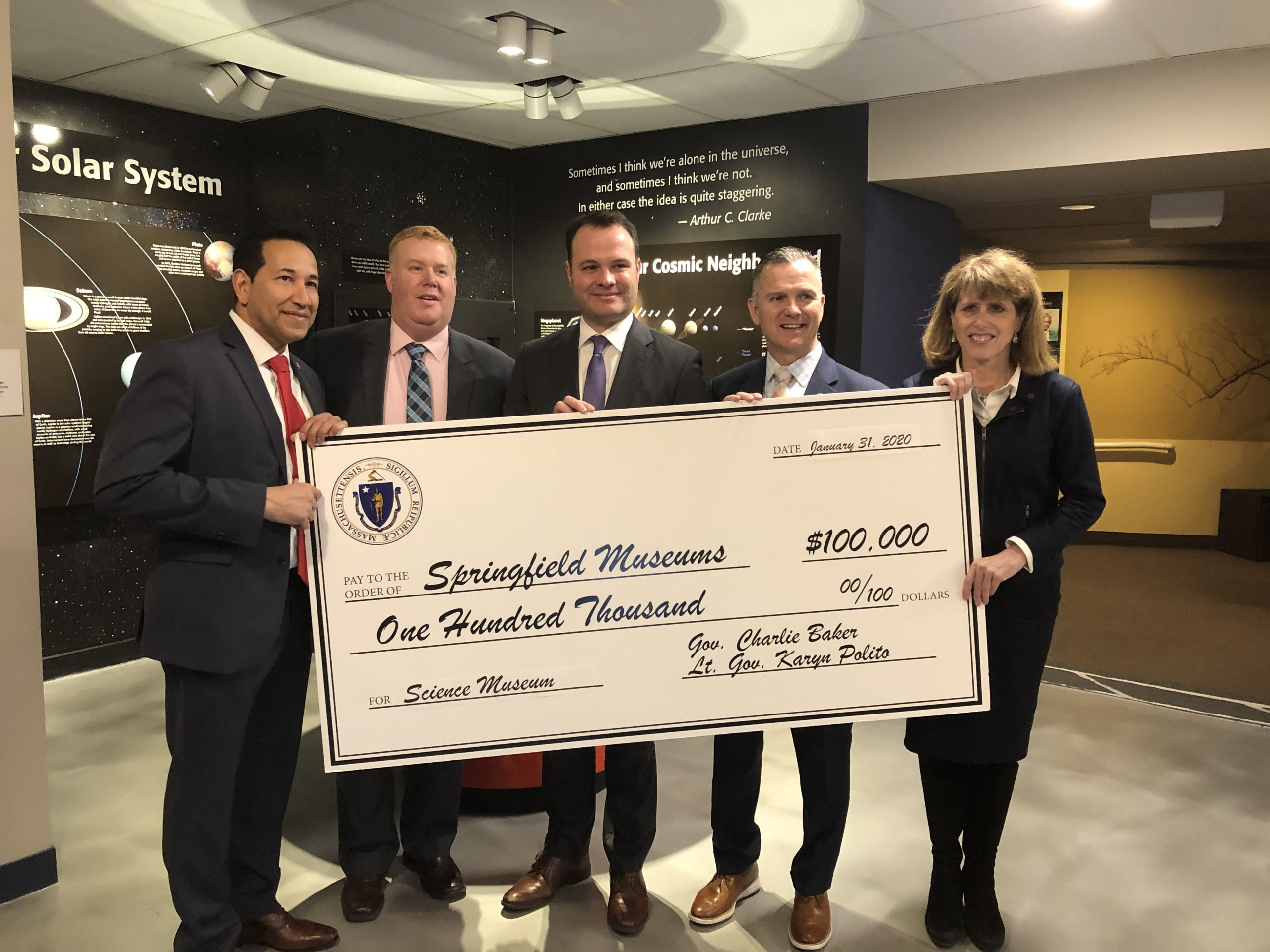 Legislators Celebrate Improvements To The Springfield Science Museum