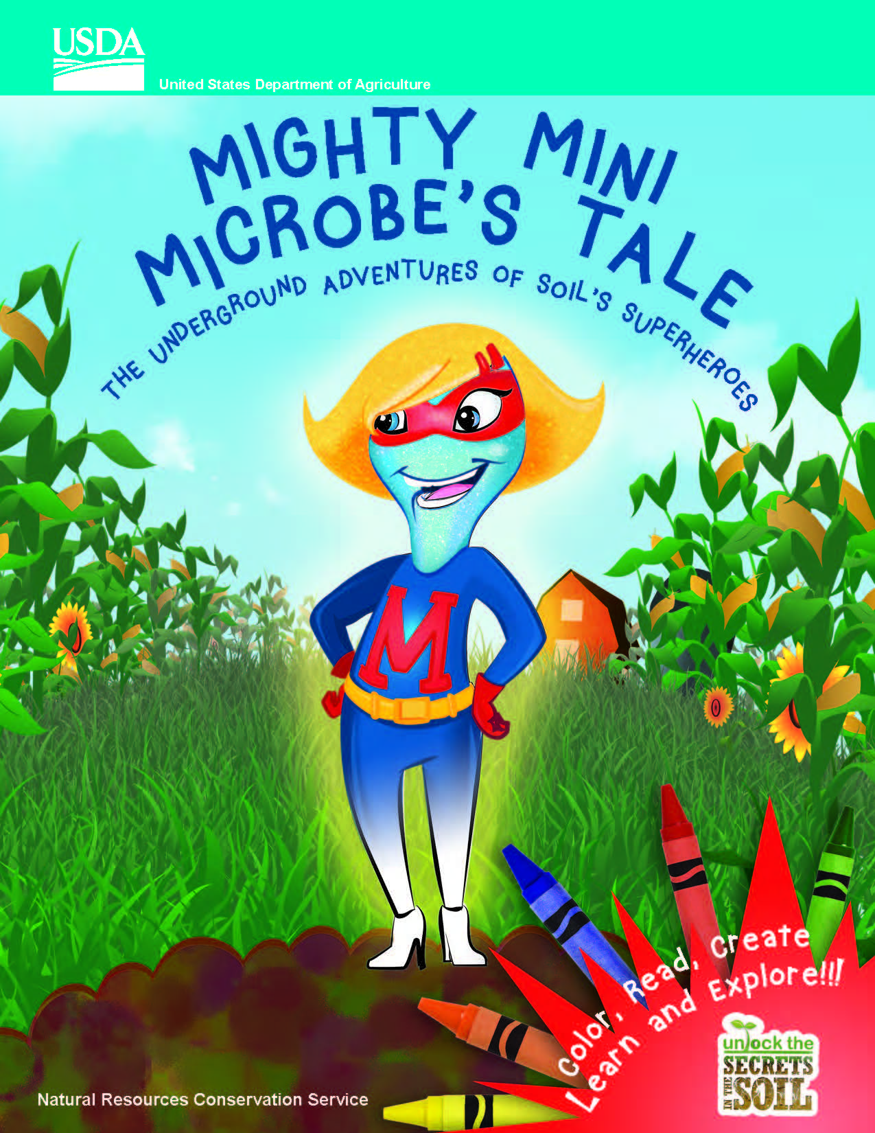 Mighty Mini Microbe's Tale – Color, Read, Create, and Learn