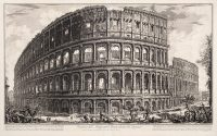 View of the Flavian Amphitheater, Called the Colosseum
