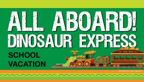 All Board! Dinosaur Express